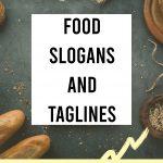 Food Slogans and Taglines