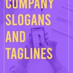 Company Slogans and Taglines
